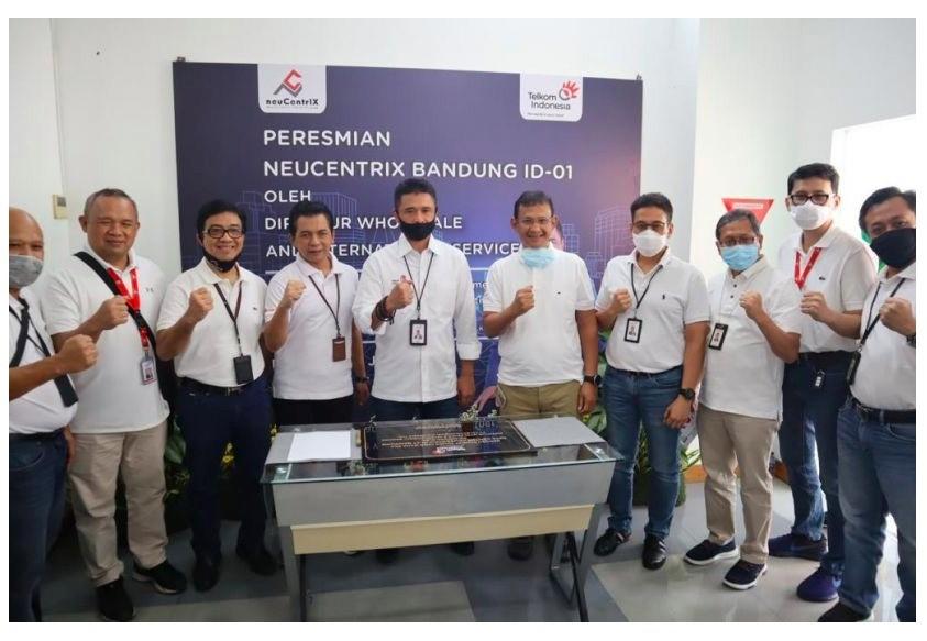 TR 3 Terima Kunjungan Dir WINS Resmikan NeuCentrIX Lembong Bandung