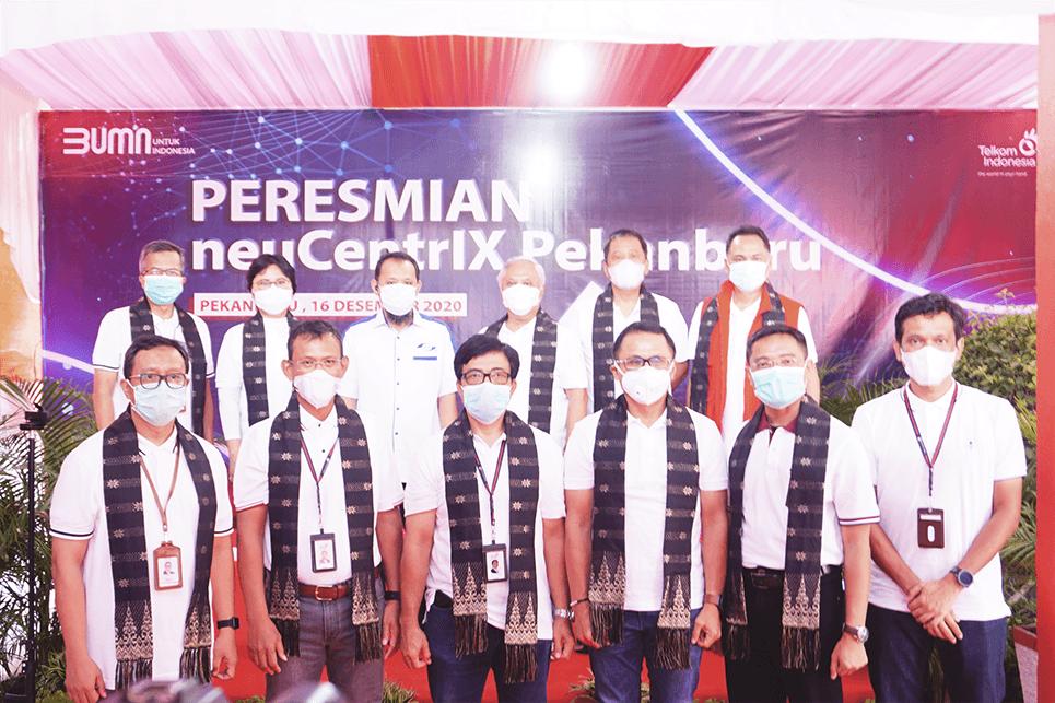 The Launching of neuCentrIX Pekanbaru and Telkom Indonesia's First Digital Corner