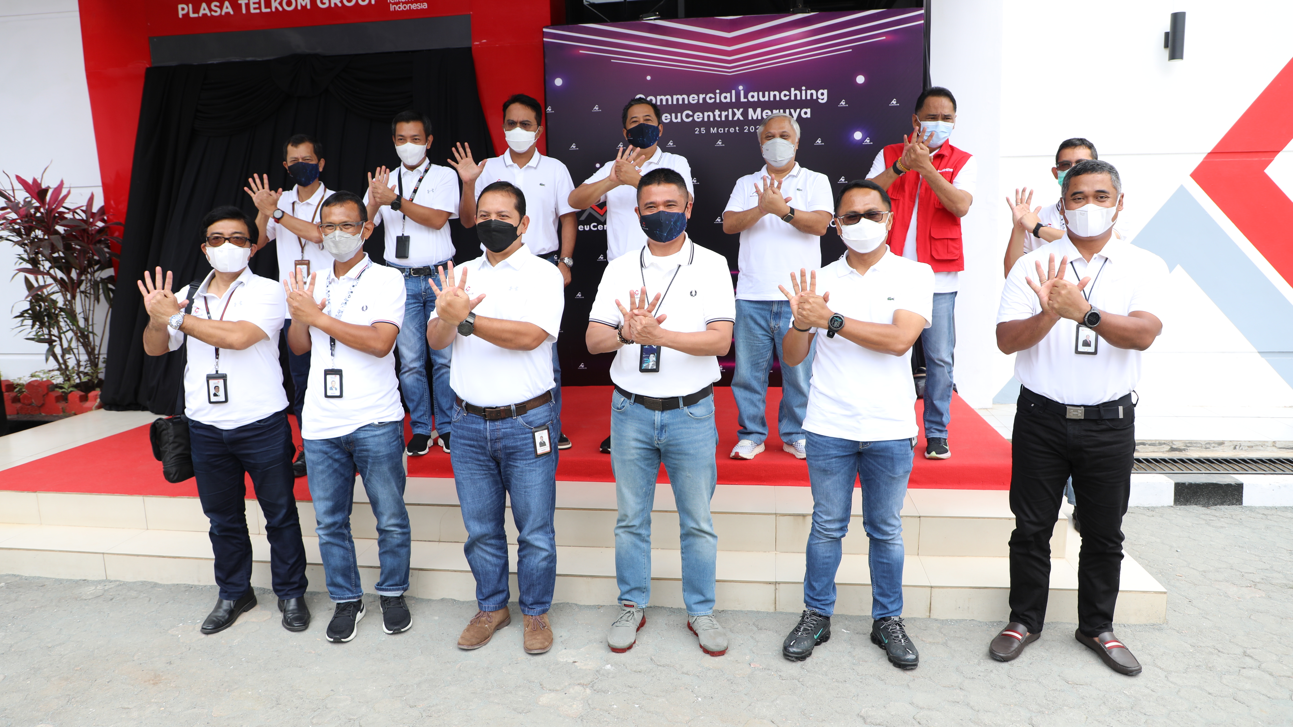 Peluncuran neuCentrIX Meruya, Data Center Tier 3 dari Telkom Indonesia