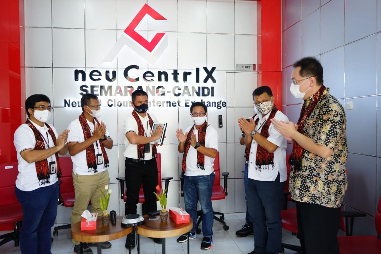 The Launching of neuCentrIX Candi, Telkom's 11th Data Center, in Semarang