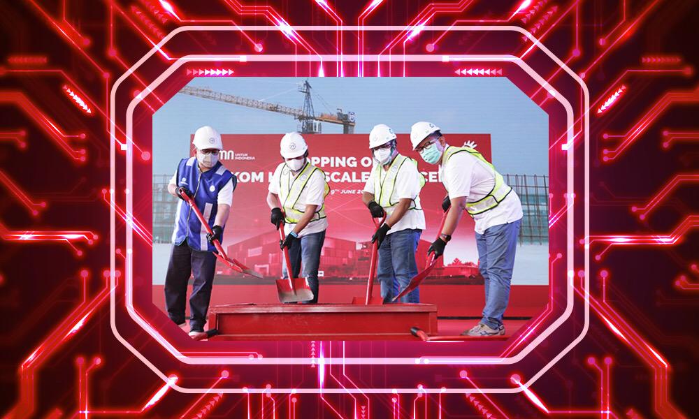 Topping-off Ceremony Menandai Pembangunan neuCentrIX HyperScale Data Center